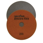 "Weha 5"" Electro Flex Marble Electroplated Diamond Polishing Pad 200 Grit"
