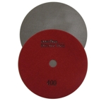 "Weha 7"" Electro Flex Marble Electroplated Diamond Polishing Pad 400 Grit"