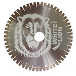 "18"" x 20mm White Lion Diamond Bridge Saw blade Quartzite Granite Engineered Stone"