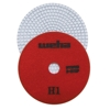 "5"" Weha 3 Step Hybrid Step 1 Diamond Polishing Pad Granite Marble Engineered Stone"