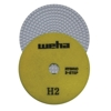 "5"" Weha 3 Step Hybrid Step 2 Diamond Polishing Pad Granite Marble Engineered Stone"