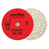 "8"" Weha 3 Step Hybrid Step 1 Diamond Polishing Pad Granite Marble Engineered Stone"
