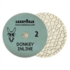 "8"" Weha 3 Step Hybrid Step 2 Diamond Polishing Pad Granite Marble Engineered Stone"