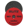 "Part#  134100 4"" Weha BLITZ Polishing Pad 100"
