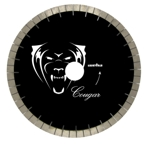 "Granite Bridge saw blade, granite diamond bridge saw blade,16"" x  25mm Pantera Diamond Bridge Saw Blade #134182"