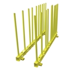 "Weha Heavy Duty Remnant Rack 2-60"" Base & 20-36"" Posts"