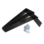 "12"" x 2-1/2"" x 1/4"" L Shaped Counter Top Support Bracket Set of 3 plus 12 Screws"
