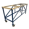 "84"" x 27"" x 40"" Weha Yellow Granite Work Table"