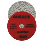 "Part#  164100 4"" Weha ES Engineered Stone Diamond Polishing Pad 4 Inch 100"