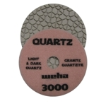 "Part#  1643000 4"" Weha Quartz Polishing Pad 100 Geo Pattern Design"