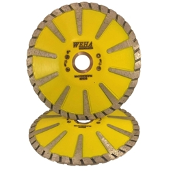 "Part#  50505 5"" Weha Turbo Contour Blade with Side Diamond Cutting"