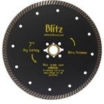 "Part#  51417 Weha 7"" Blitz Ultra Premium Quad Turbo Diamond Blade"