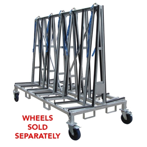 Weha Double Sided A Frame Transport Cart Large 8 Foot