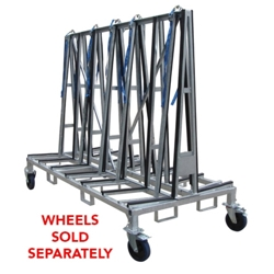 Part# 8010484 Weha Large Stone Material Handling Transport A Frame Cart