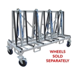 Part#  8010487 Weha Shorty A Frame Transport Cart