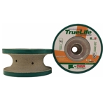 Part#  8061 Oma Pos 5 3cm V Full Bullnose Truelife Polish Wheel