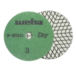 Dry Diamond Polishing Pad 5 Step - Step 3 Part#  D5S43