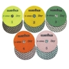 Dry Diamond Polishing Pad 5 Step - Set of 5 Part#  D5S4SET