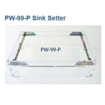 Part # PW99P Sink Setter PW-99-P Brass Under mount Sink Installation Kit.