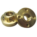 Part#  VZ051055 Weha Brass Quad Adapter