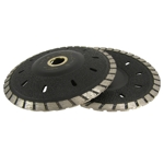 "Part#  VZDSH5 5"" Weha Blitz Double Vacuum Brazed Diamond Contour Blade"