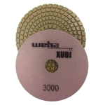 "Part#  VZP53000 Weha 5"" Xubi Polishing Pad - 3000 Grit"