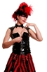 Our Black Heavy PVC Bodice features an exotic Halter and Shoulder Design with Back