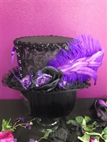 All Hilary's Vanity Hats are hand made by Hilary shipping can take up to 2 weeks depending of if we have to make a new one or if it is in stock.