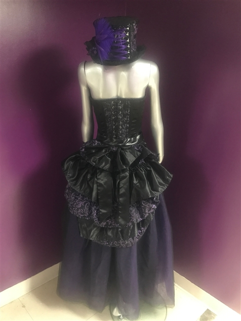 Bustle Belt Purple Swirl – The Bustle belt is the perfect accessory to giving it that Victorian flare or a more Burlesque look.