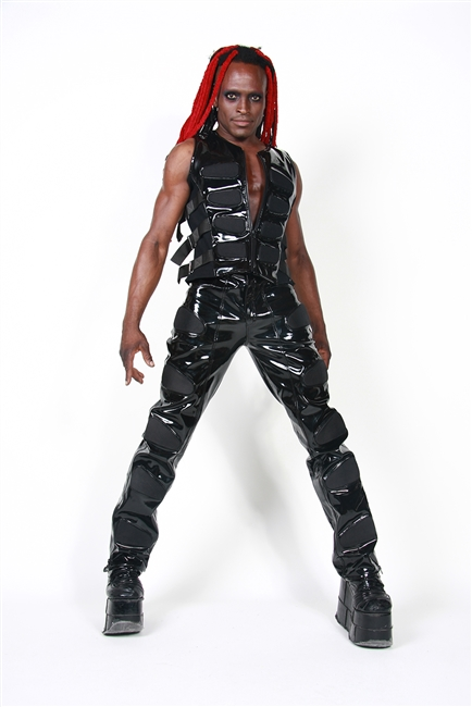 Murder Pants Black are made with our Black PVC and have Black Panels. These Pants the are Fully Lined with 100% Polyester Lining and have Back Pockets.