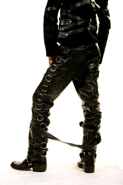 Sir Pants Leather are Fully Lined PVC with Buckles down both sides. These pant are done