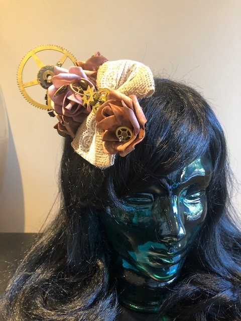 Steampunk Hair Flowers