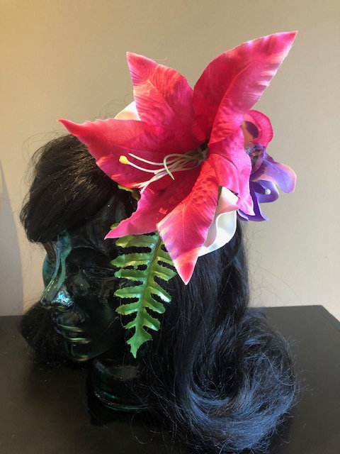 Tiki Hair Flowers 129