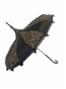 Hilary's Vanity UMBRELLA Brown Swirl