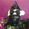 Black PVC X-Mas Hat with Bow  in stock and ready to ship!
