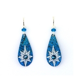 Adajio Blue Star Earrings