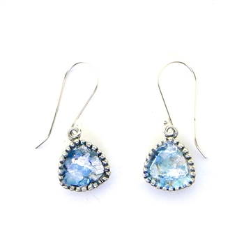 Angie Olami Roman Glass Earrings 810237