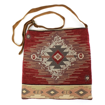 Atenti Haversack Pueblo Crossbody Bag