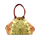 Atenti Betty Henna Red Handbag