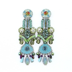 Ayala Bar Aqua Earrings 117390 Fall 2015