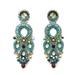 Ayala Bar Turquoise Crown Earrings C1098 Spring 2019