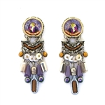Ayala Bar Purple Rain Earrings 117541 Spring 2018