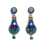 AYALA BAR SAPPHIRE RAIN EARRINGS 11C1062 FALL 2018