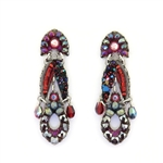 Ayala Bar Crimson Flame Earrings C1157 Fall 2019
