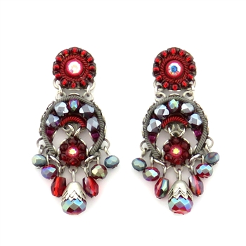 Ayala Bar Crimson Flame Earrings C1158 Fall 2019