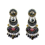 Ayala Bar Moon Jet Earrings C1164 Fall 2019