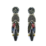 Ayala Bar Moon Jet Earrings C1165 Fall 2019