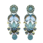 Ayala Bar Blue Velvet Earrings 11C1404 Fall 2020