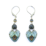 Ayala Bar Blue Velvet Earrings 11C1406 Fall 2020