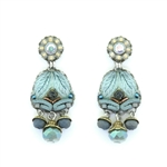 Ayala Bar Blue Velvet Earrings 11C1407 Fall 2020
